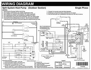 H  P  Split System Wiring Diagram