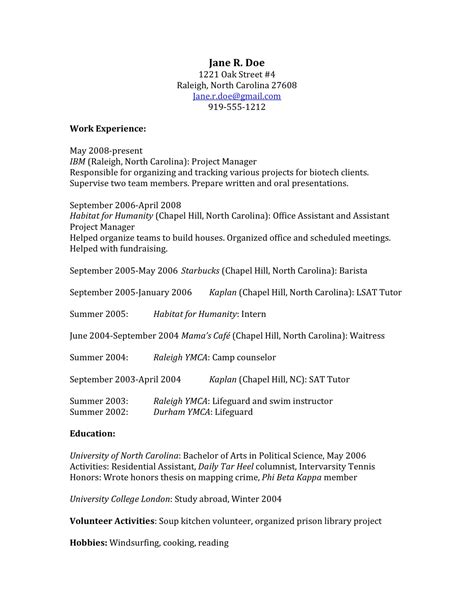 application knowledge in resume how to craft a school application that gets you in sle resume teardown