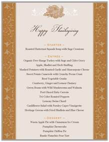 stranded in cleveland thanksgiving dinner menu cornucopia menu design