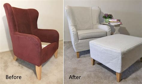 slipcovers for chairs summer slipcover for wingback chair ottoman the