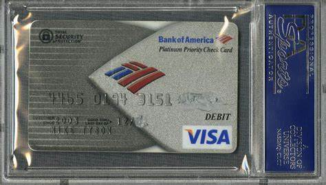 Earlier this month, i had a credit card of mine declined when i tried to pay for service at my local auto shop. Lot Detail - Mike Tyson Signed Bank of America Visa Debit Card