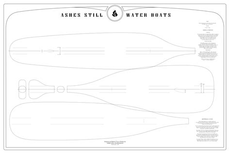 Paddle Template paddle templates ashes still water boats