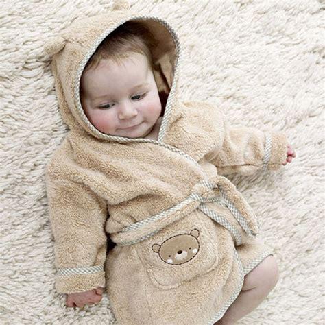robe chambre peignoir bébé à capuche peignoir bébé