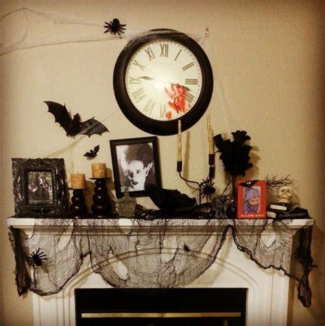 amazing mantel halloween decorations ideas decoration
