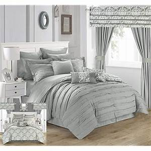 queen, comforter, sets, with, curtains