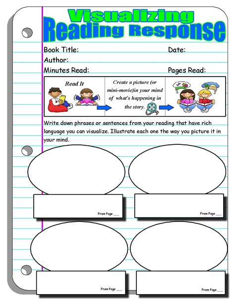 reading response forms and graphic organizers scholastic
