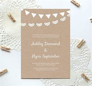 printable wedding invitation templates caroldoey With printable wedding invitations with pictures