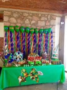 project decoration birthday decorations candy bar party turtles