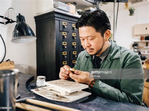 japan watchmaker   workshop stock photo getty images