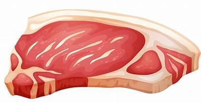 Pork Clipart Chop Meat Clip Fresh Cut