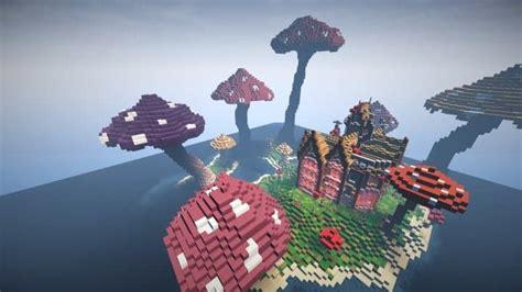 mushroom mansion minecraft building