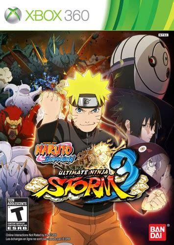 Naruto Shippuden Ultimate Ninja Storm 3 Xbox 360 21075