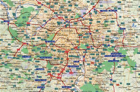 Carte Departement Parisien by Info Carte Region Parisienne