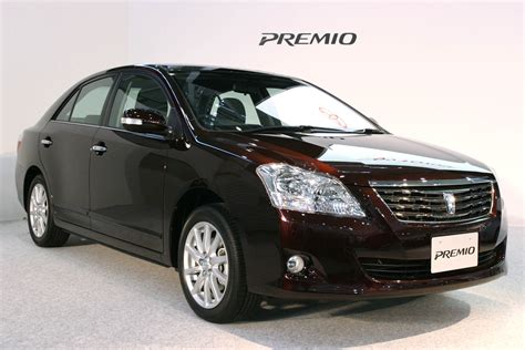 Difference Between Toyota Premio X And F And G And Allion