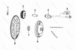 Polaris Atv 2009 Oem Parts Diagram For Engine  Starter