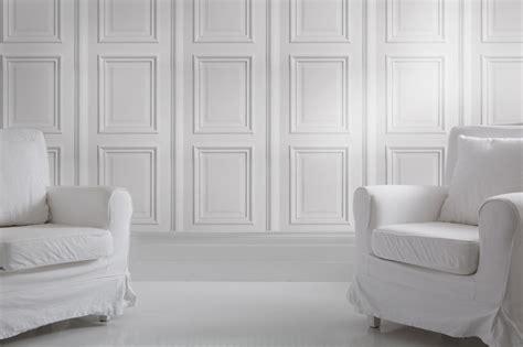 iron white panelling bookcase wallpaper  problem