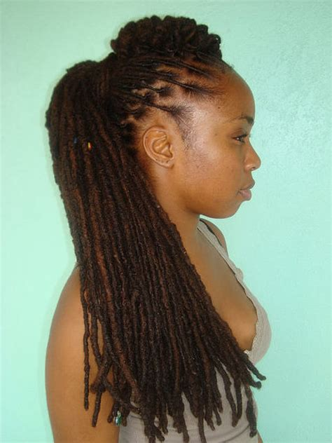 hair styles for locs locs hairstyles page 4
