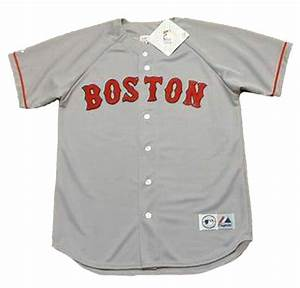 Majestic Jersey Size Chart Jose Canseco Boston Red Sox 1995 Majestic Throwback Away