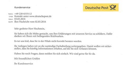 spass mit der deutschen post netz rettung recht