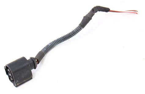 Headlight Washer Wiring Pigtail Plug 05-10 Vw Jetta Gli