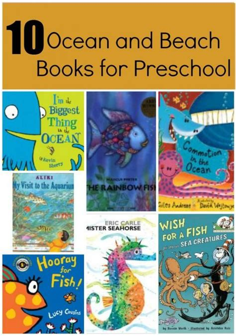 preschool books about the ocean 10 books for and learning book lists 606