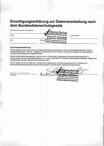 Einverständniserklärung Vorlage Arbeit : impressum fischer versicherungsmakler gmbh ~ Themetempest.com Abrechnung