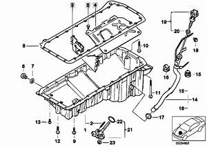 Original Parts For E46 330d M57 Touring    Engine   Oil Pan