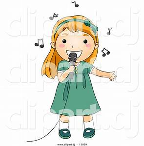 Singing Clipart - Synkee