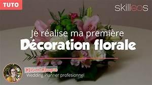 Centre De Table Mariage : tuto je cr mon premier centre de table floral rond ~ Melissatoandfro.com Idées de Décoration