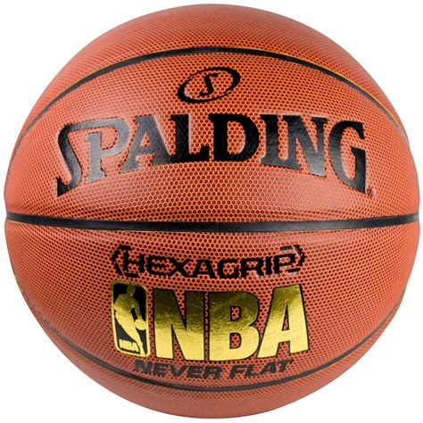 nba hexagrip composite neverflat size