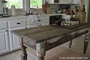 Vintage, Home, Love, Farmhouse, Table