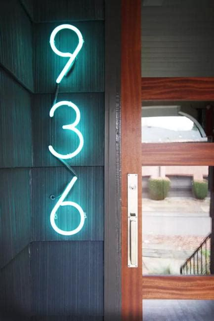 beautify house number signs  plants  outdoor