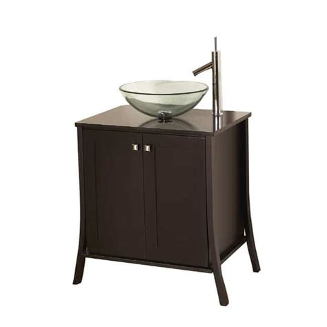 Portable Bathroom Sink by Portable Sink Depot Portable Sink Glass Bowl Vanity With
