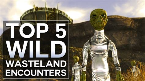 "Top 5 ""wild Wasteland"" Encounters  Fallout New Vegas"