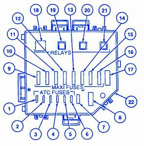 1994 Ford Mustang Fuse Box Diagram : ford mustang gt 1997 power distribution fuse box block ~ A.2002-acura-tl-radio.info Haus und Dekorationen