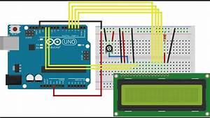 Arduino - Display Lcd 16x2 -  05 Automa U00e7 U00e3o