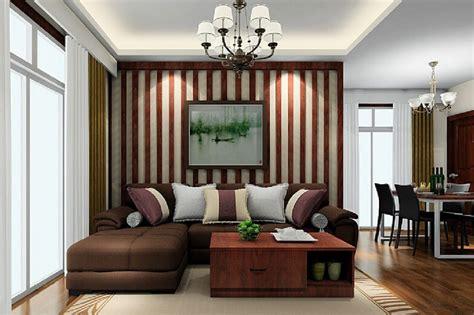 16 Creative Vertical Striped Living Room Wallpaper Ideas