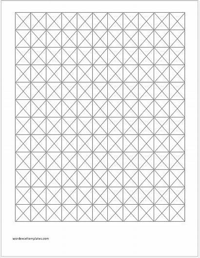 Isometric Graph Paper Papers Knitting Template Word
