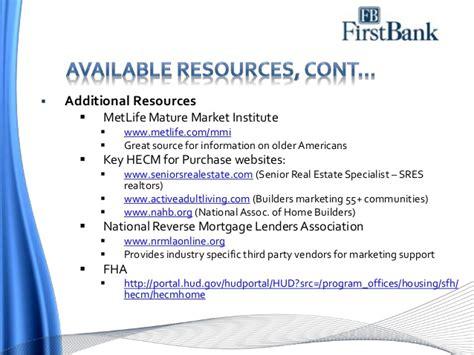 reverse mortgage marketing fundamentals