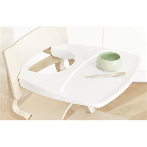 chaise haute blanche tablette pour chaise haute leander blanche