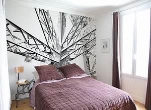 Agrandir Une Petite Chambre Avec Du Papier Peint En Tte