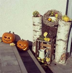 38 besten deko vor der haustur bilder auf pinterest With französischer balkon mit halloween deko garten