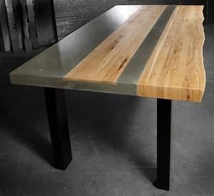 Möbel Aus Beton : beton tisch eine originelle einrichtungsidee ~ Michelbontemps.com Haus und Dekorationen