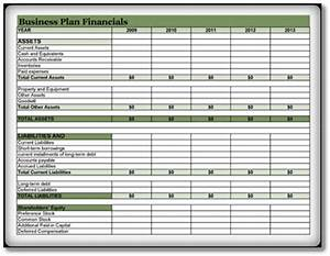 Download Avery Template Financial Business Plan Template 3 Excel Pdf Open