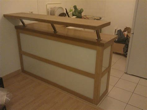 caisson meuble cuisine ikea meuble séparation cuisine ouverte par lemony sur l 39 air du bois