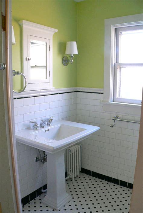 1930s bathroom ideas sink and window in remodeled mahomet farmhouse bath a2