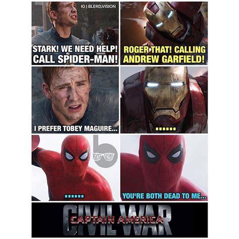 tom  andrew  tobey  funniest spider men memes