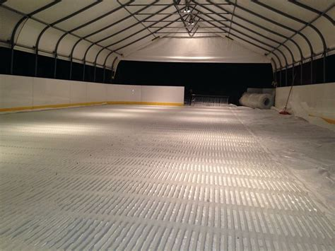 rink piping easy to install rink piping both for portable rinks and permanent rink