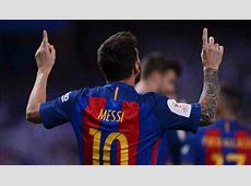 Lionel Messi, voted the best player in the history of football