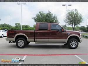 2008 Ford F250 Super Duty King Ranch Crew Cab 4x4 Dark